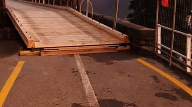 ponte bailey cernobbio finiti i lavori di collaudo oggi ora apertura
