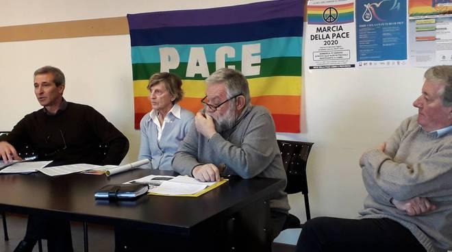presentazione del mese della pace a como e cantù con coordinamento comasco per la pace