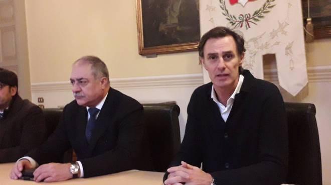 presentazione recupero definitivo ticosa comune con assessore galli e sindaco landriscina