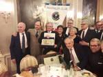 serata di auguri 2019 panathlon di como premiazioni palace como pierre zappelli e igor cassina greta parravicini