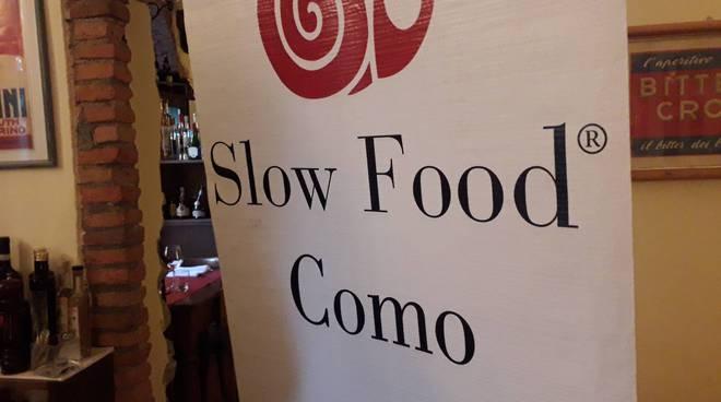 slow food presentazione serata dei 30 anni al crotto del sergente
