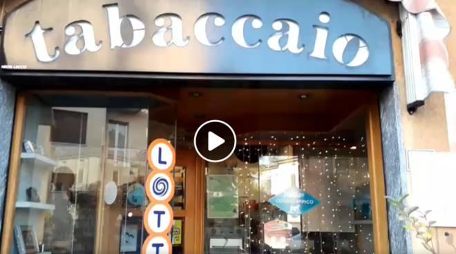 biglietto vincente da 500.000 euro ad ERba tabaccheria piazza rovere lotteria italia
