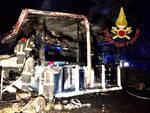 incendio doloso chalet di guanzate distrutto dalle fiamme arrestato l'ex proprietario