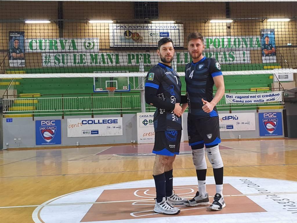 match sponsor volley maschile per libertas castellana maglie da libero