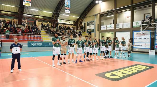 Pool libertas cantù contro Ortona al parini volley maschile a2 partita azioni