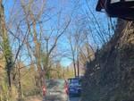camion che sale sulla valfresca nonostante divieto immagine gruppo pubblico san fermo