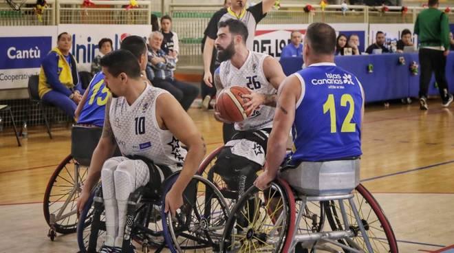 champions per briantea84 basket carrozzina contro gran canaria