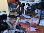 I vandali distruggono il centro sportivo Gigi Meroni di Albate
