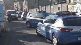 polizia esterno centro sportivo gigi meroni albate per vandalismo