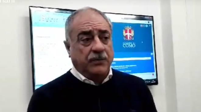 sindaco landriscina como dopo allerta vento in città intervista polizia locale