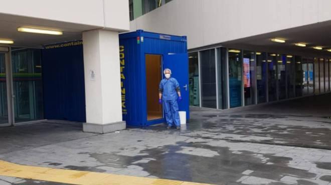 emergenza coronavirus, situazione ospedale sant'anna ingresso e visite pazienti