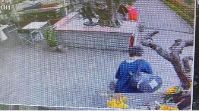 furto esterno caffecchio di cantù ladro ripreso dalle telecamere