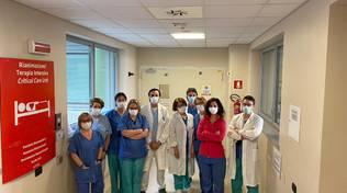 terapia intensiva sant'anna e direttore angerlo lombardo con medici