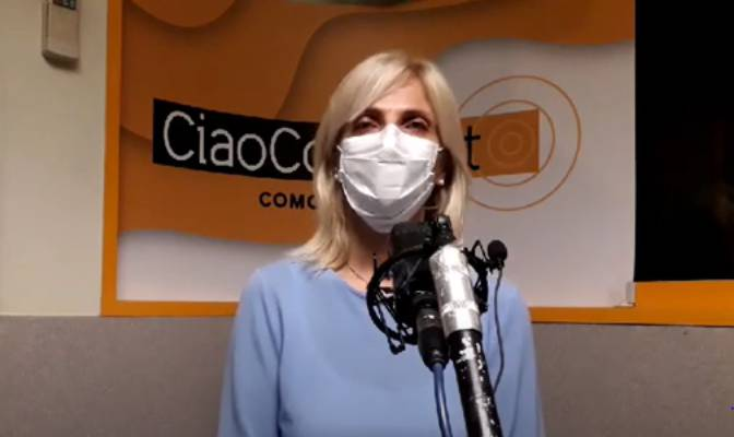 assessore negretti in diretta ciaocomo linea diretta per emergenza virus COC