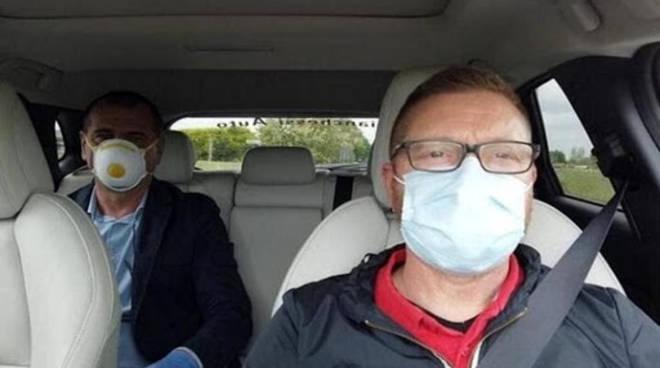 coronavirus come viaggiare in auto