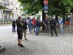 protesta ambulanti di como in comune per riapertura mercato