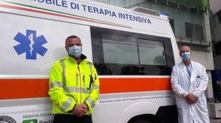 unità mobile terapia intensiva ospedale sant'anna