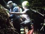 alta valle intelvi pompieri recuperano giovani dispersi nel bosco di notte