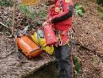 altre immagini soccorsi agli speleologi bloccati nella grotta al pian del tivano soccorso alpino