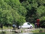 il recupero dell'uomo annegato al lago del Segrino, Mattia Gandola