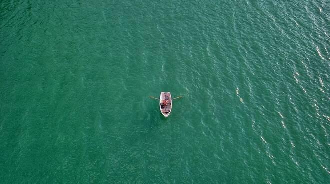 lago lugano verde