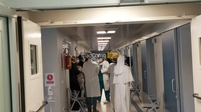 Nuovo reparto chirurgia Valduce di Como, taglio del nastro