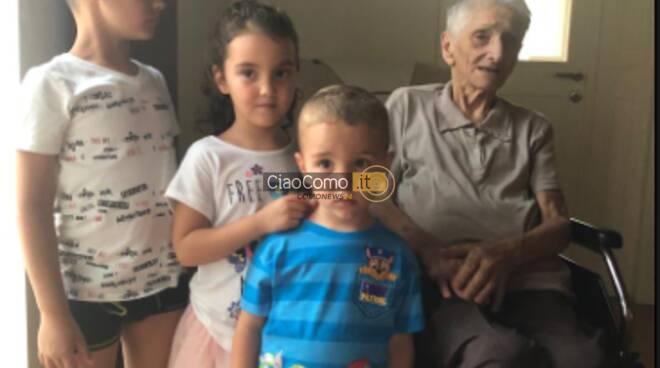 paola bianchi nonna 101 anni festa a casa mandello