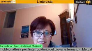 sindaco moltrasio carmela Ioculano in diretta da noi facebook