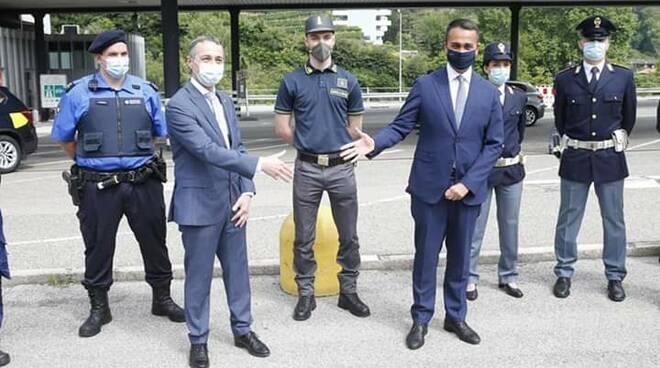visita a brogeda luigi di maio ministro degli esteri con cassin ticino