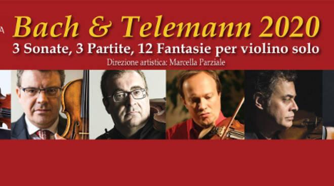Davide Alogna guida i sei violinisti per Bach e Telemann. Oggi ...