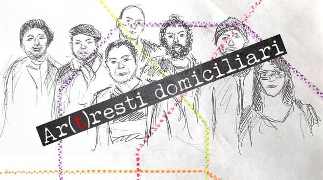 arresti domiciliari sette artisti