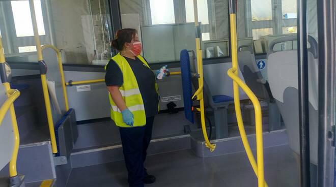 bus asf sanificazione per avvio anno scolastico