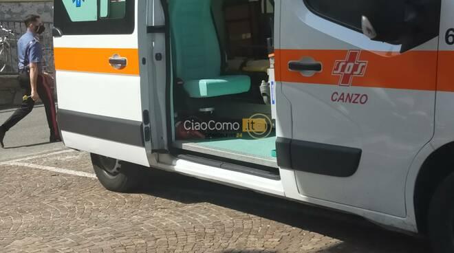 malore turista lezzeno imbarcadero ambulanza e soccorsi