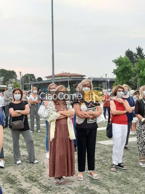 Monsignor Delpini in visita a Lurate Caccivio