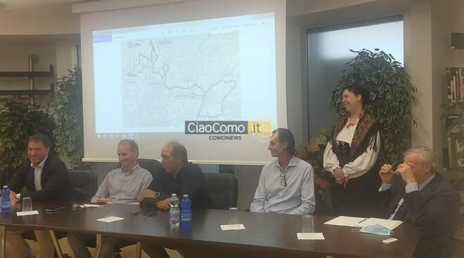 presentazione giro di lombardia ciclismo 2020 al museo del ghisallo