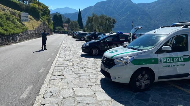 Tremezzina controlli congiunti polizia locale e carabinieri posto di controllo