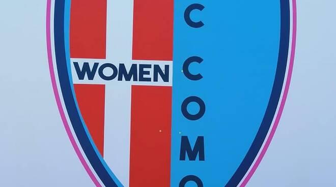 nuovo logo fc como women calcio femminile verga