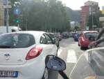 Cantieri a Como, traffico