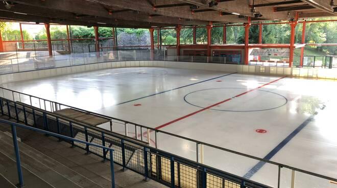 centro sportivo di casate pista del ghiaccio riaperta