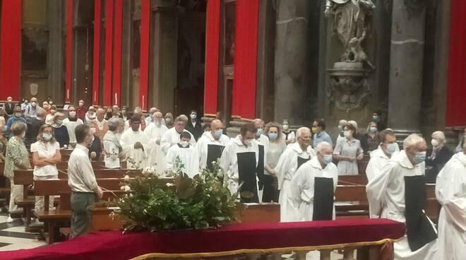 Como, esposizione straordinaria del Santo Crocifisso nella basilica di viale Varese