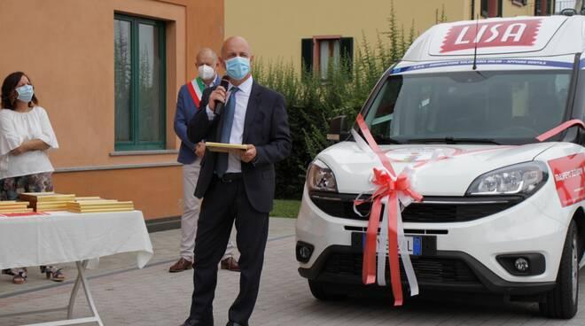 Polti, donazione automezzo al SOS di Appiano Gentile