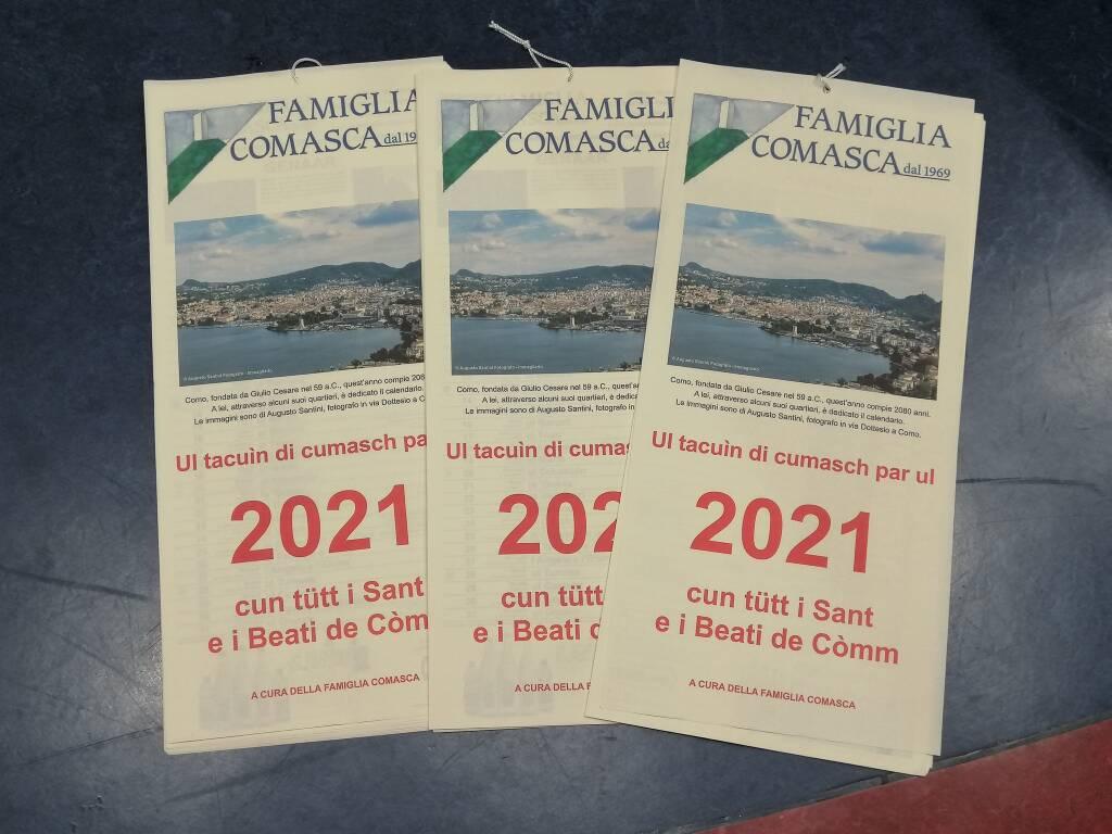 Tacuin par ul 2021 Famiglia Comasca