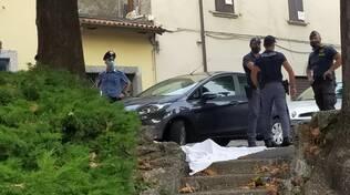 vescovo di como sul luogo del delitto di don Roberto piazza san Rocvco