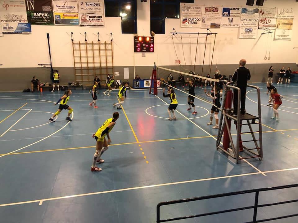 albesetecnoteam allenamento congiunto con Garlasco volley b1