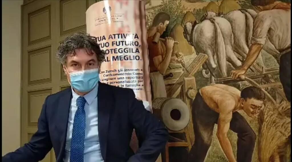 Carlo Tafuni - Confcommercio Como - nuovo DPCM