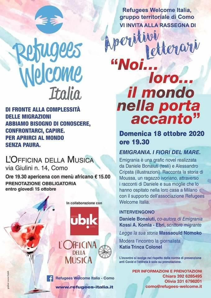 Rosa Sciocchin' - Welcome Refugees Italia - Como