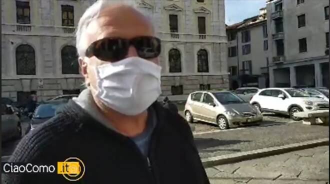 Marco Taroni situazione drammatica dei tassisti comaschi