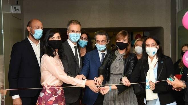 Inaugurazione nuovo Baby Pit Stop UNICEF a Palazzo Pirelli