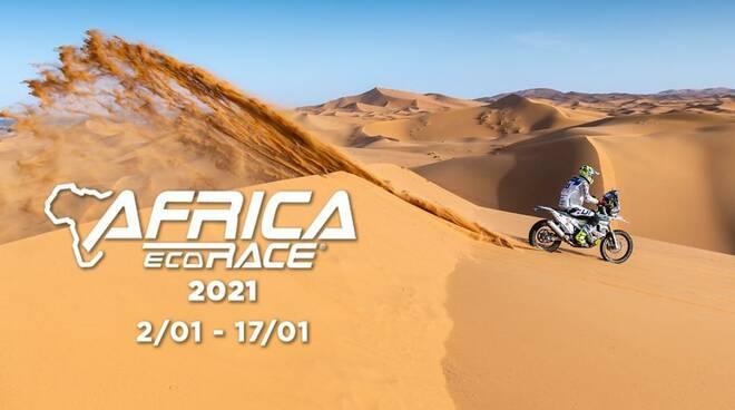 jacopo cerutti al via da gennaio africa eco race locandina ufficiale