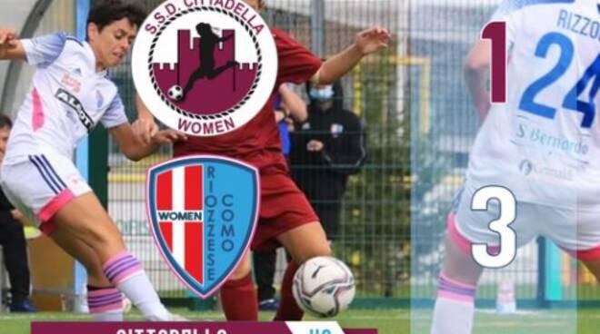 riozzese como vince a Cittadella calcio donne